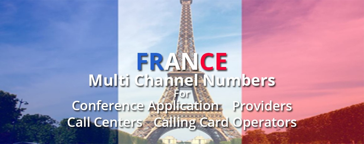 France  Numbers| unlimited channels|NO Local Address Proof