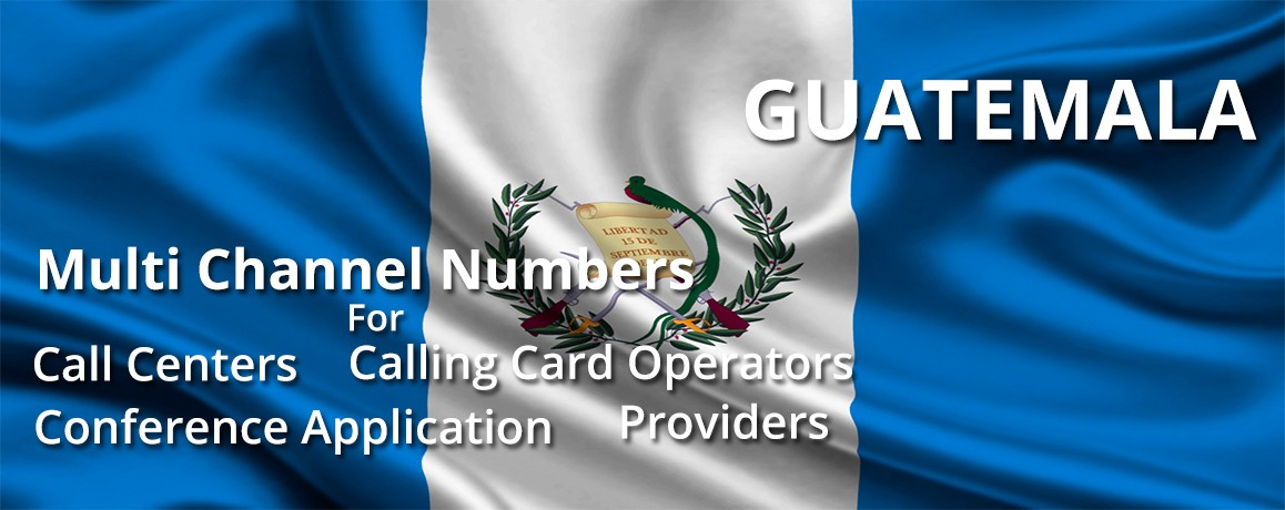 Guatemala  DID Number| Mobile Number