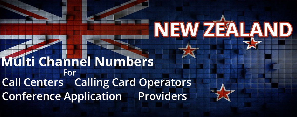New Zealand Numbers unlimited channels| Calling Cards ,Call Centers Supported