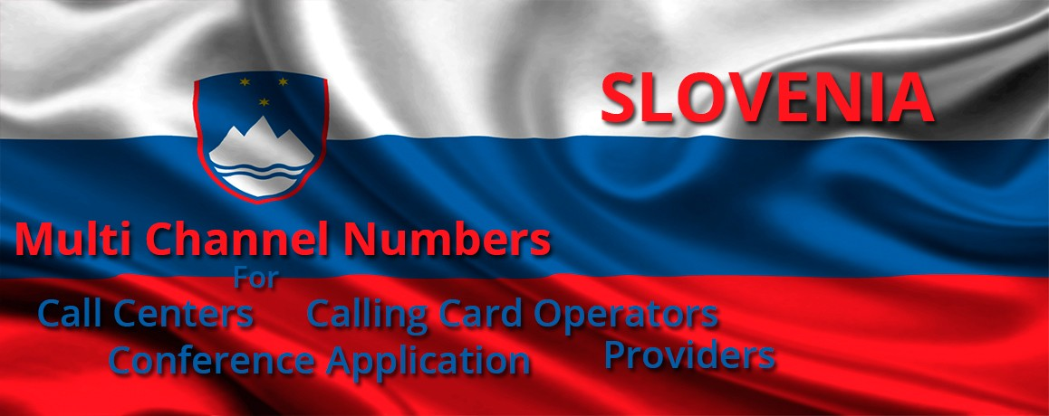 Slovenia Numbers with unlimited channels for Calling Cards &  Call Centers