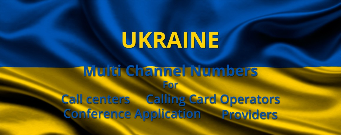 Ukraine Numbers with unlimited channels for  Call Centers