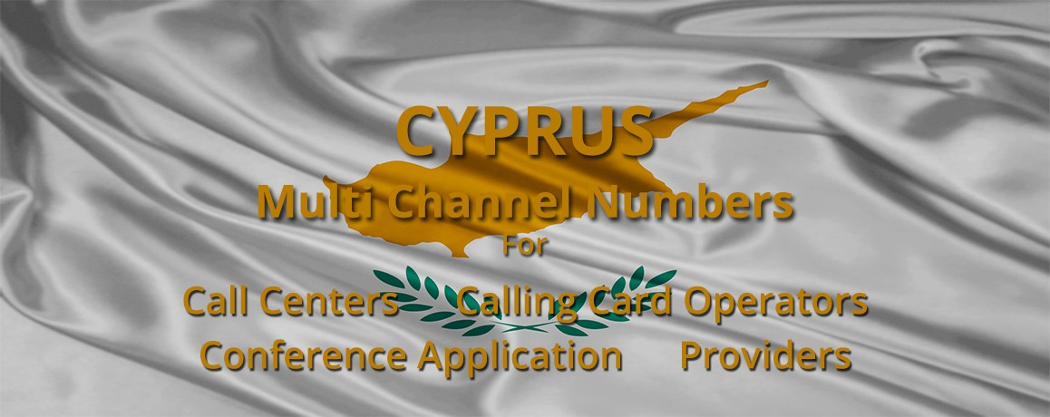 Cyprus Numbers unlimited channels| Calling Cards ,Call Centers Supported